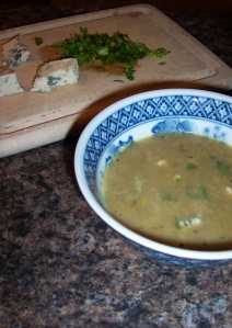 leek and rosemary soup