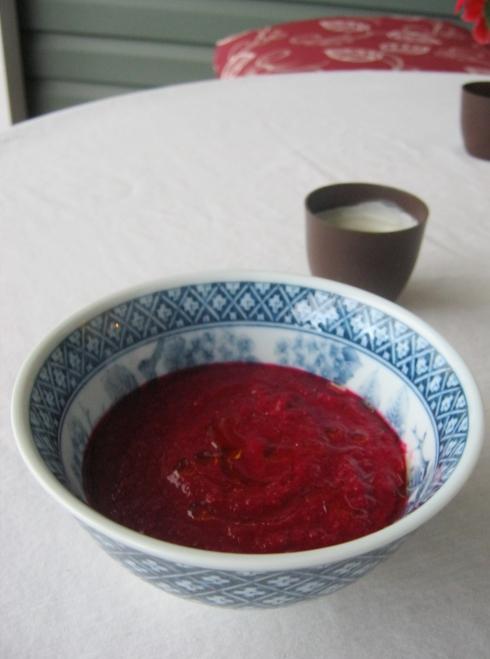 beetroot gazpacho