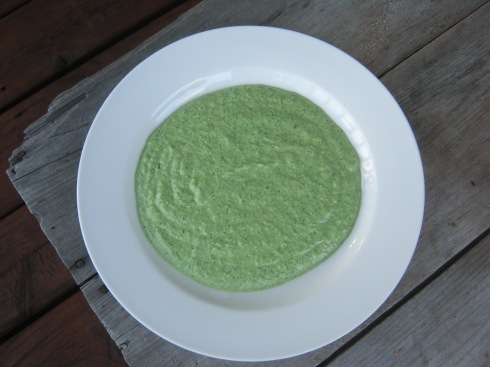 green herb borani