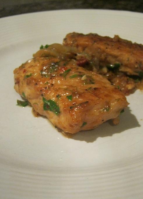 pan-fried pork