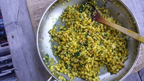 heidi's indian corn dish