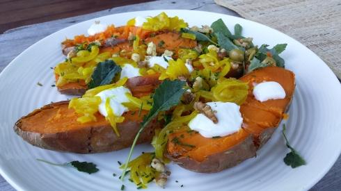 salt-baked sweet potatoes 2