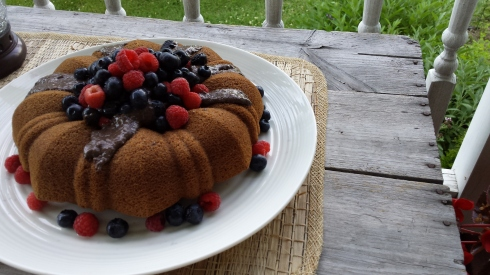 sarah b's volcano cake for the 4th